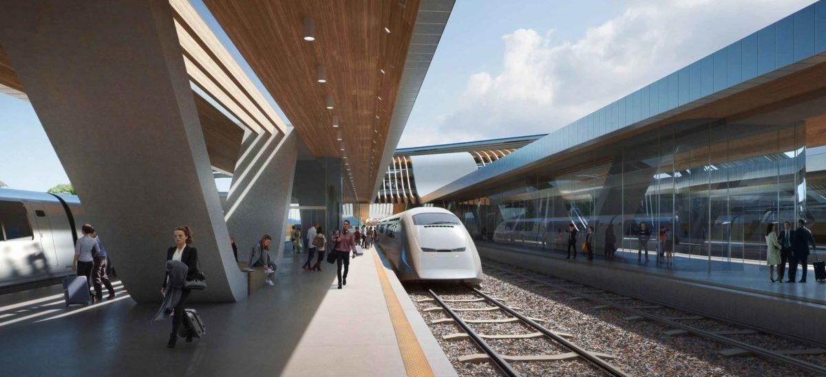 Linię kolejową z Warszawy do Tallina zamknie jeden z najnowocześniejszych dworców w Europie