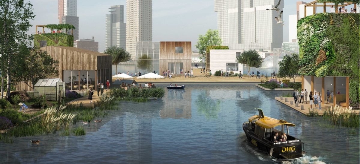 Rotterdam szykuje się na zmianę klimatu