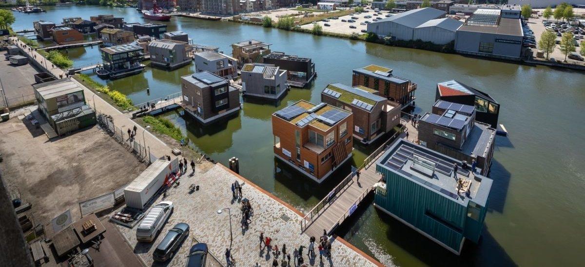 Zrównoważone osiedle na wodzie