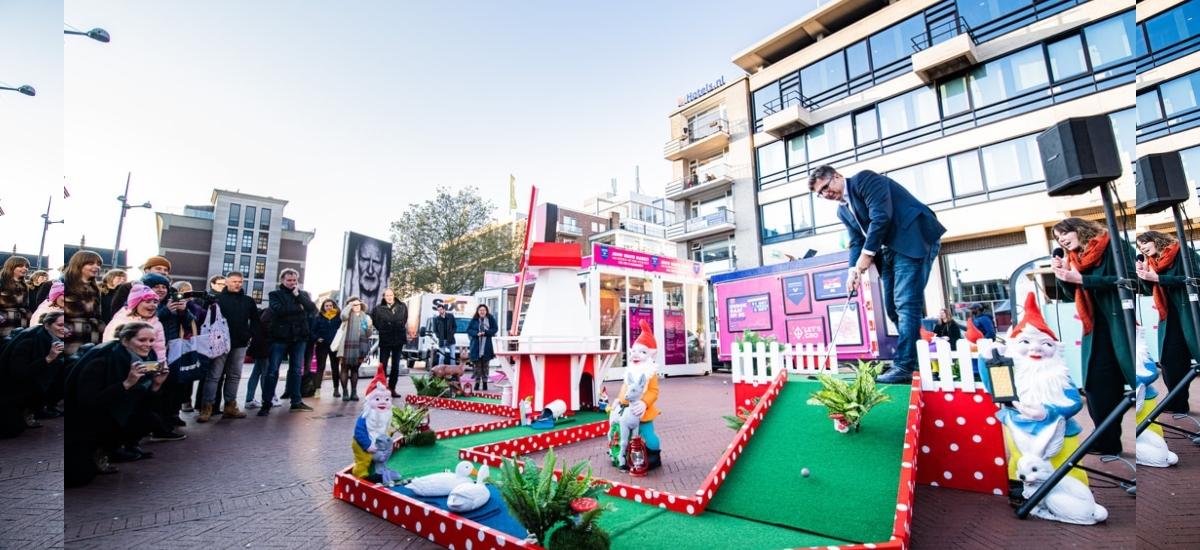 Minigolf na ożywienie martwych, miejskich przestrzeni