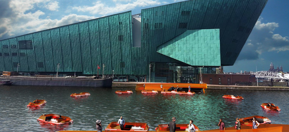 Na kanały Amsterdamu wypłyną pożyteczne roboaty
