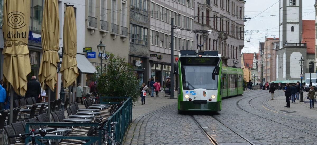 W centrum Augsburga autobusy i tramwaje są bezpłatne